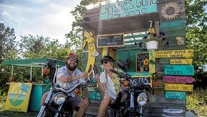 Christie and Matt Farkas of Christie's Gone Bananas
