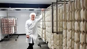 Pete Roscini Colman of Vermont Salumi and Alimentari Roscini in Barre