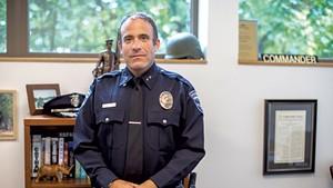 Former Burlington police chief Brandon del Pozo