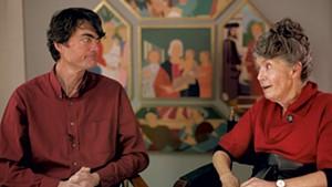 Paul Johnson and Sabra Field