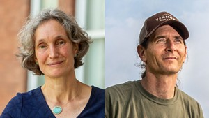 Rebecca Holcombe and David Zuckerman