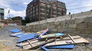 Removal of Bank Street Murals Around Burlington 'Pit' Sparks Concern