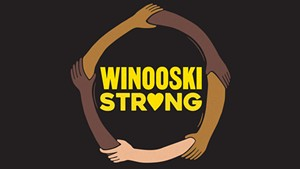"""Winooski Strong"" T-shirt design"