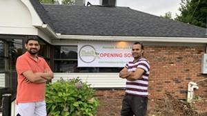 Priyank Shah (left) and Sikander Badhan co-own Elaichi Indian Restaurant & Bar