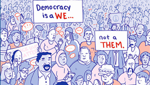 From 'This Is What Democracy Looks Like: A Graphic Guide to Governance' by the Center for Cartoon Studies