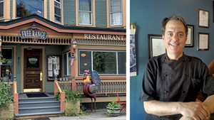 Free Range in Chester and chef-owner Jason Tostrup