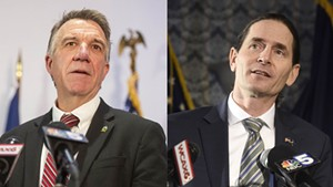 Gov. Phil Scott and Lt. Gov. David Zuckerman