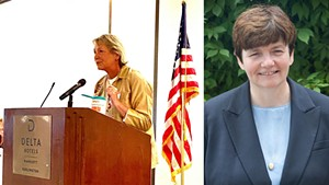 Carolyn Whitney Branagan (R) and Beth Pearce (D)