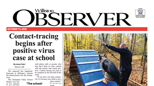 The latest issue of the Williston Observer