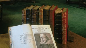 Shakespeare's First Folio Exhibit and Festival in Middlebury