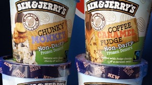 New dairy-free flavors from Ben & Jerry's