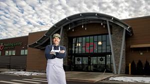 Matt Jennings at Healthy Living Market & Café in Williston