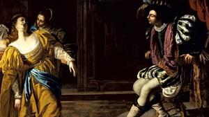 """Esther Before Ahasuerus, 1628-1635"" by Artemisa Gentileschi"