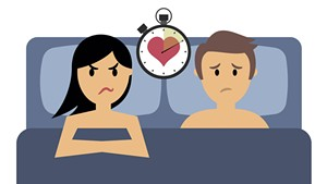 I Can't Have an Orgasm During Sex, But My Boyfriend Finishes Fast. What Do I Do?