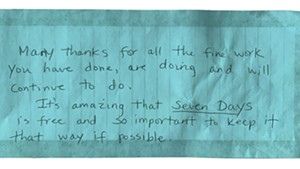 A note from a Super Reader