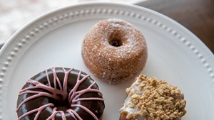 Doughnuts at Kru Coffee