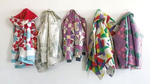 Quilt coats by Kathleen McVeigh