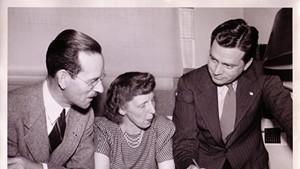 Left to right: John French, Ruth Reynolds Freeman, William Freeman