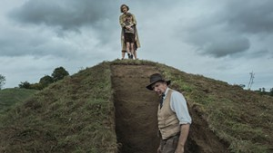 GROUNDED Fiennes and Mulligan star in a refreshingly low-key period piece about a landmark archaeological find.