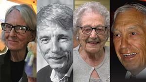 L to r.: Tennant Glenn Davitian, Ed Hanley, Angie Routly, Dr. Frank Fiermonte