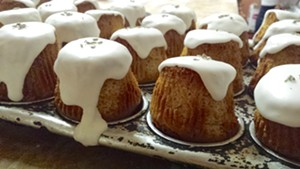 Lemon-lavender teacakes at Barrio Bakery