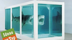 """""""The Physical Impossibility of Death in the Mind of Someone Living"""" by Damien Hirst"""