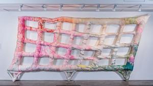 """Slanting Grid"" by Meg Lipke"