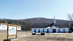 Green Mountain Bible Church in Island Pond