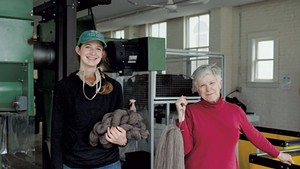 Amanda Kievet (left) and Peggy Allen