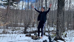 Cartoonist Alison Bechdel at her home near Bolton