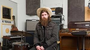 Jer Coon at his studio in Burlington