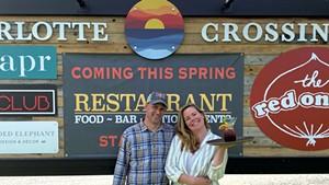 Jill and Adam Spell of Backyard Bistro
