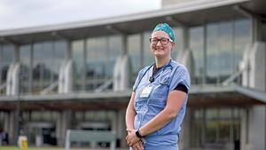 Cara Grogan, Respiratory therapist, University of Vermont  Medical Center, Burlington