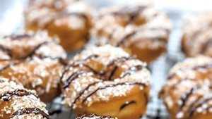 Caramel-coconut-chocolate doughnuts from North Country Donuts