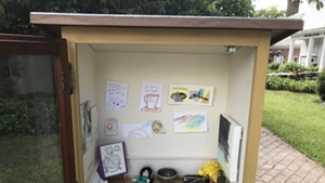 Free Little Art Gallery in Middlebury