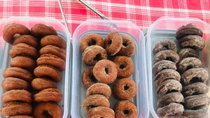 Doughnuts from the Potato Shed