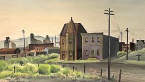 """Sunday Morning (Colorado)"" by Adolf Dehn"
