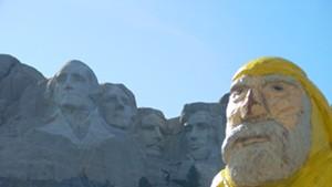 Captain Ahab at Mount Rushmore