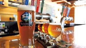 The Tap Room at Switchback Brewing