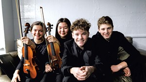 Vermont Youth Orchestra Association musicians