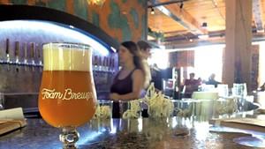 Orange Dot at Foam Brewers