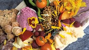 The Omnivore Pleasure Platter at Live Forever Foods