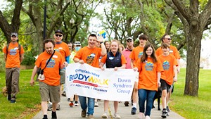 Champlain Valley Down Syndrome Group Buddy Walk, 2021