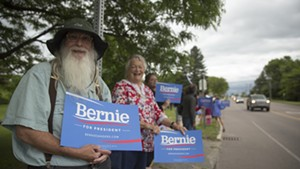 Vermonters welcome Sen. Bernie Sanders home Wednesday in South Burlington.