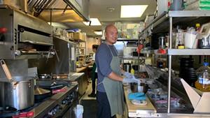 Chef/co-owner Sam Lai of Cafe Dim Sum