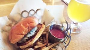 Mule Bar's $8 cheeseburger