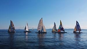 Six new art sails