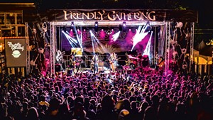 Twiddle performs at last year's Frendly Gathering