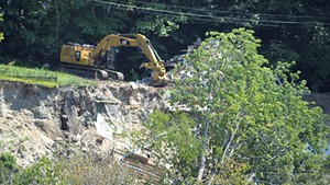 The Plattsburg Avenue demolition