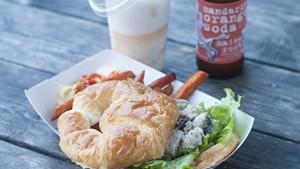 Chicken salad sandwich at Whippi Dip